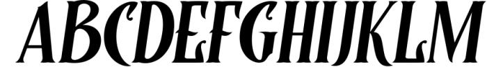 Controwell Victorian Typeface 4 Font UPPERCASE