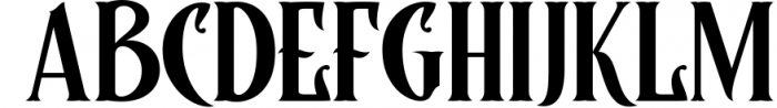 Controwell Victorian Typeface Font UPPERCASE