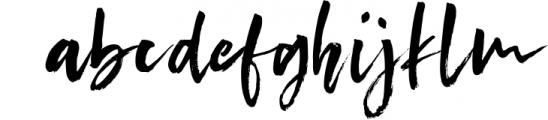 Conundrum Rough Brush Font Font LOWERCASE