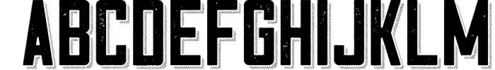 Cosmic Lager with bonus 7 Font UPPERCASE