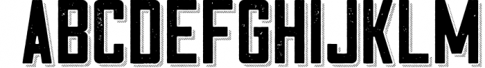 Cosmic Lager with bonus 7 Font LOWERCASE