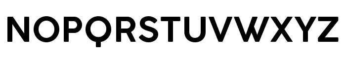 COCOGOOSE DemiBold Font UPPERCASE