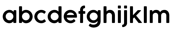 COCOGOOSE DemiBold Font LOWERCASE
