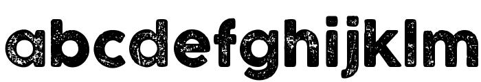 COCOGOOSE LETTERPRESS Font LOWERCASE