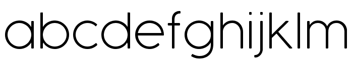 COCOGOOSE  UltraLight Font LOWERCASE