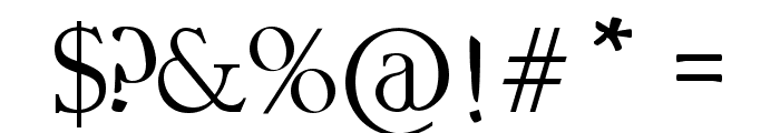 CODEX GIGAS Font OTHER CHARS