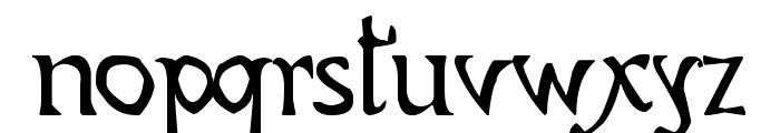 CODEX GIGAS Font LOWERCASE