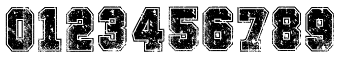COLLEGE FREAKS DISTORTED DEMO Font OTHER CHARS
