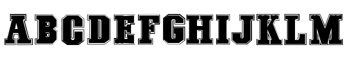 COLLEGE FREAKS - Demo Font UPPERCASE