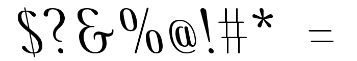 COM4t Ascripta Lean Font OTHER CHARS