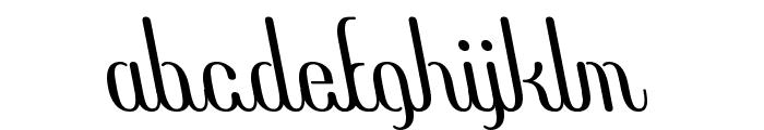 COM4t Ascripta Lean Font LOWERCASE