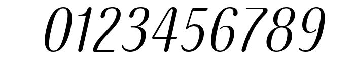 COM4t Ascripta Oblique Font OTHER CHARS