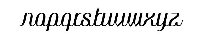 COM4t Ascripta Oblique Font LOWERCASE