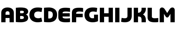 COM4t Famie Black Font UPPERCASE