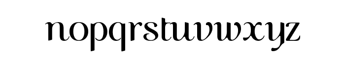 COM4t Nuvu Font LOWERCASE