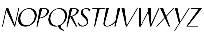 COM4t Ongac Script Font UPPERCASE