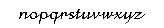 COM4t Ongac Script Font LOWERCASE
