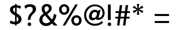 COM4t Sans Medium Font OTHER CHARS