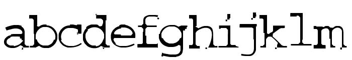 COURIERTXT Font LOWERCASE