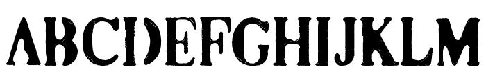 Co2 Font UPPERCASE
