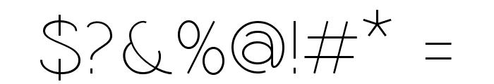 Coamei Light Font OTHER CHARS