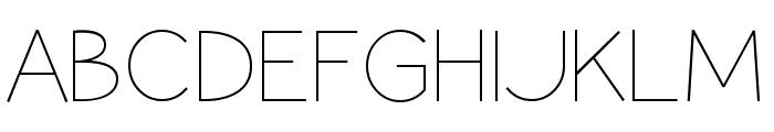 Coamei Light Font UPPERCASE