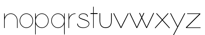 Coamei Light Font LOWERCASE