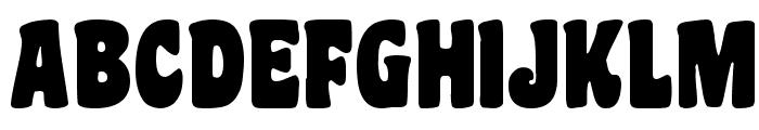 Coaster Black Font UPPERCASE