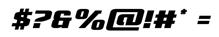Cobalt Alien Italic Font OTHER CHARS
