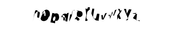 Cobalt Condensed Oblique Font LOWERCASE