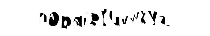 Cobalt Condensed Font LOWERCASE