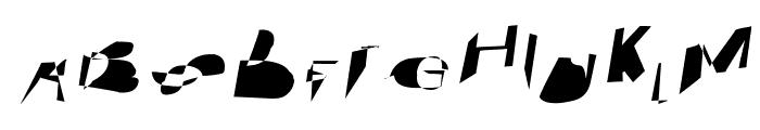 Cobalt SuperExtended Oblique Font UPPERCASE