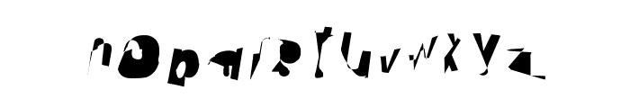 Cobalt SuperExtended Oblique Font LOWERCASE