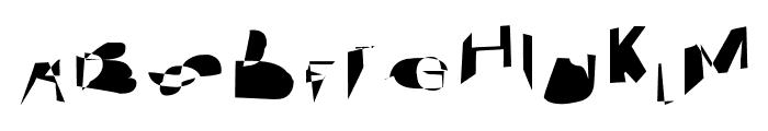 Cobalt SuperExtended Font UPPERCASE