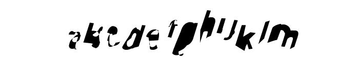 Cobalt SuperOblique Font LOWERCASE