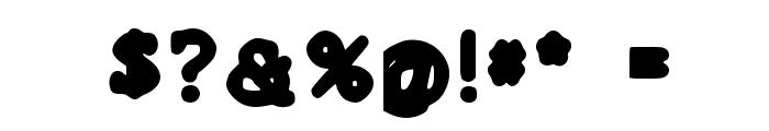 Cobera Font OTHER CHARS