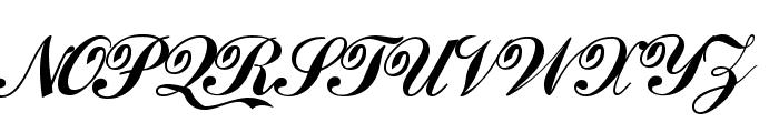 Coca Cola ii Font UPPERCASE