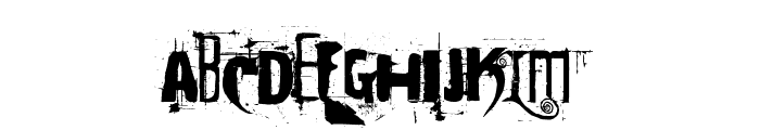 Cocaine Sans Font UPPERCASE