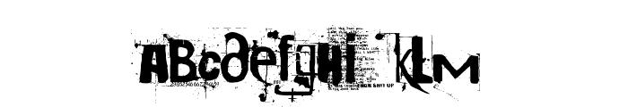 Cocaine Sans Font LOWERCASE