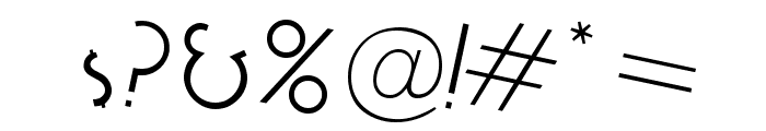 Cocktail Bubbly Font OTHER CHARS