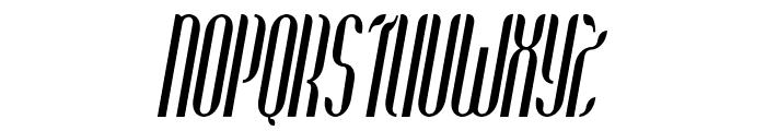 Coco-BoldCondensedItalic Font UPPERCASE