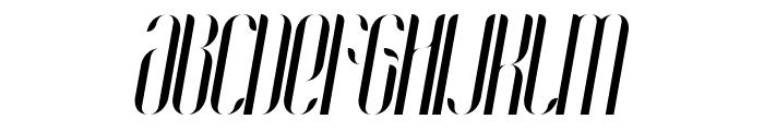 Coco-Italic Font UPPERCASE