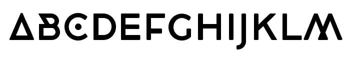 CocoBikeR Font LOWERCASE