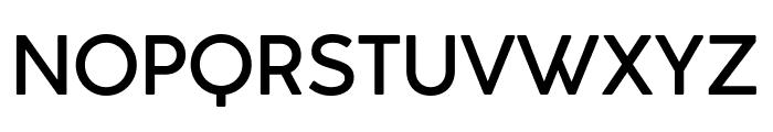 Cocogoose Classic Trial Medium Font UPPERCASE
