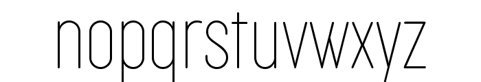 Cocogoose Compressed Trial Thin Font LOWERCASE
