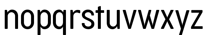 Cocogoose Condensed Trial Light Font LOWERCASE