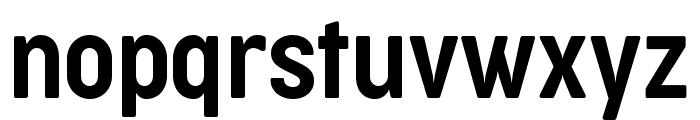 Cocogoose Condensed Trial Semilight Font LOWERCASE
