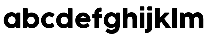Cocogoose Pro Font LOWERCASE