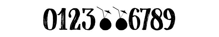 Coconut Punch DEMO Regular Font OTHER CHARS