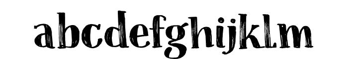 Coconut Punch DEMO Regular Font LOWERCASE